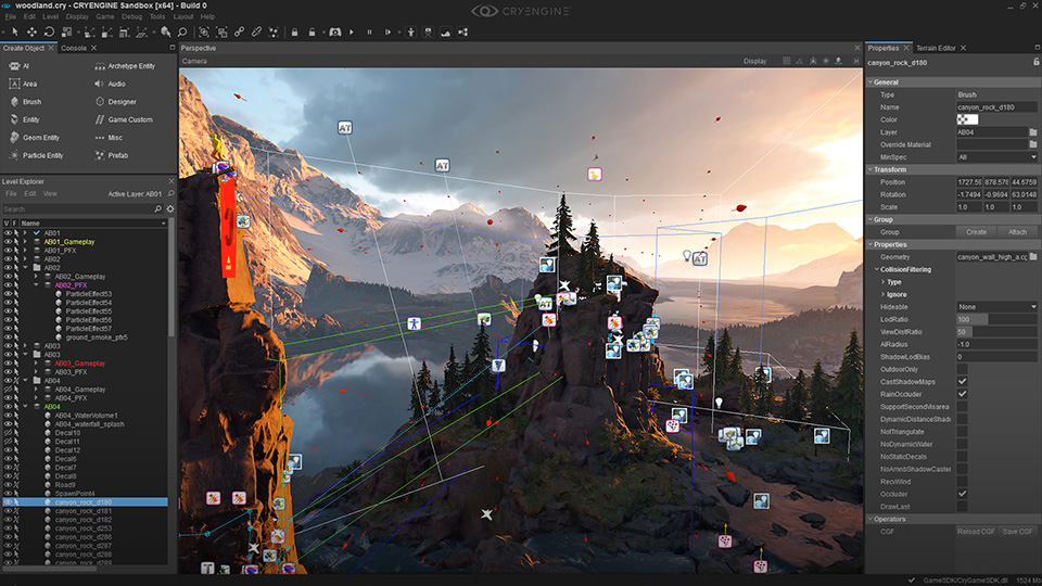 CryEngine V download Newinv-interface