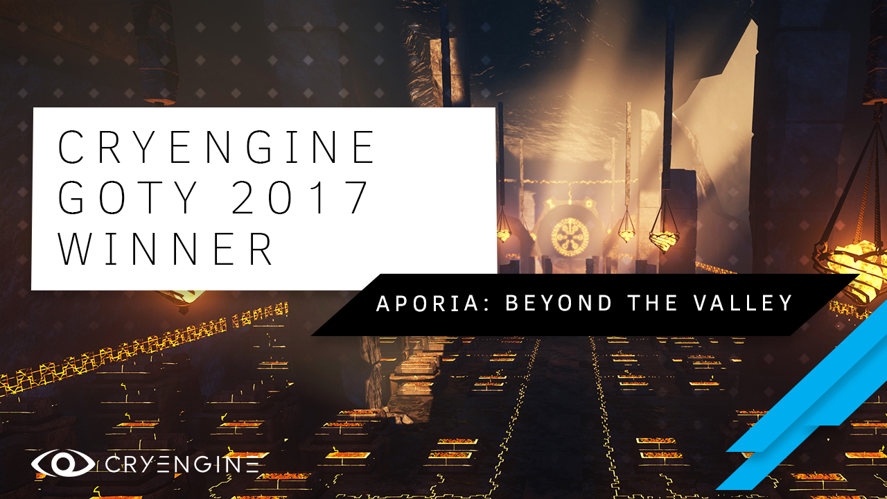 CRYENGINE Indie Game of 2017 Winner - Aporia: Beyond the Valley