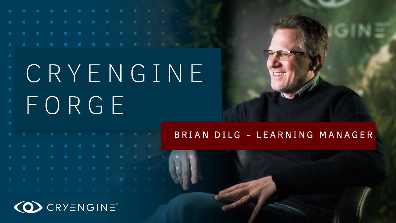 Crytek Staff Developer Spotlight: Meet Brian Dilg, our new Learning Manager