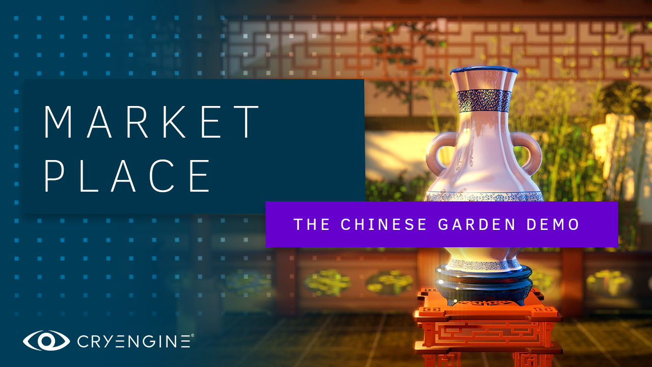 Chill out with our free 'Chinese Garden' scene