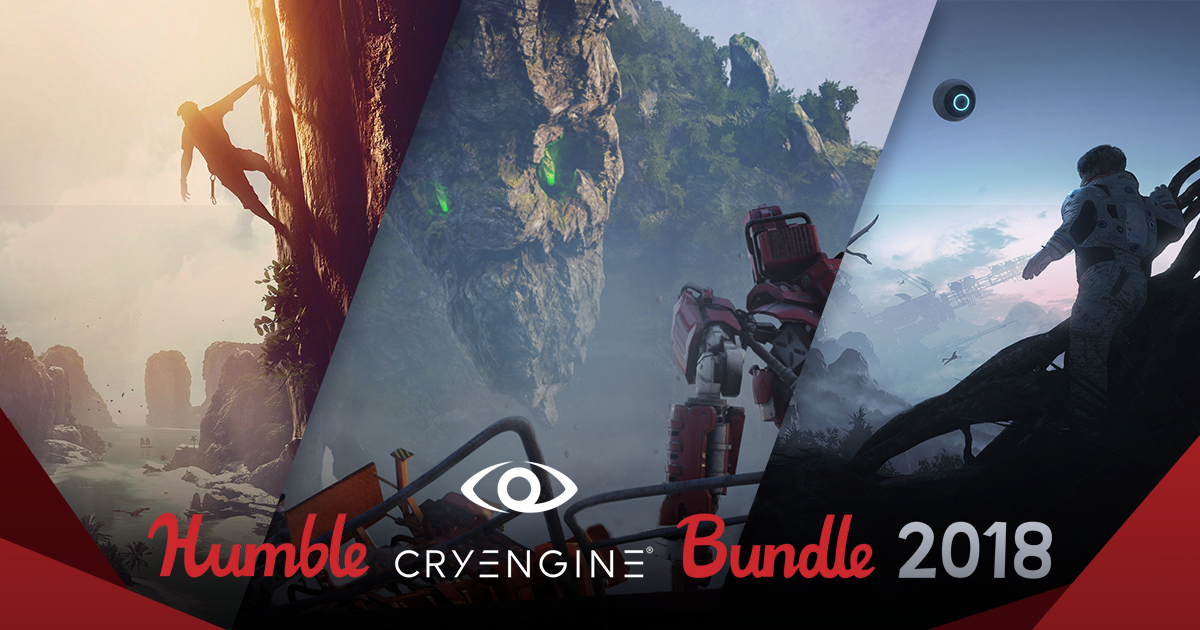 Our Humble CRYENGINE Bundle 2018 is go! Grab a deal!