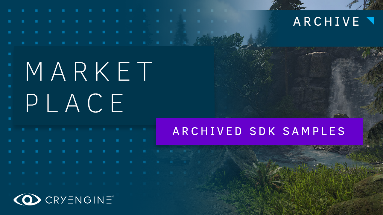 CRYENGINE GameSDK Archives Available Now