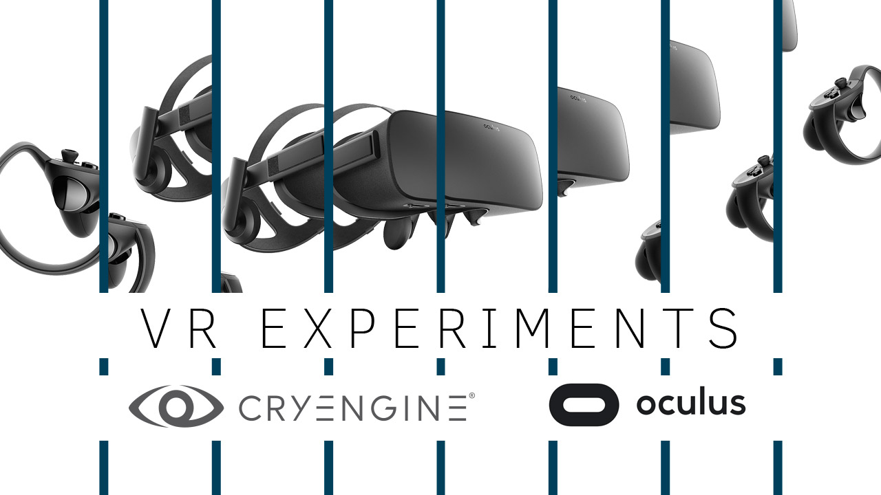 VR locomotion – A series of experiments from Crytek