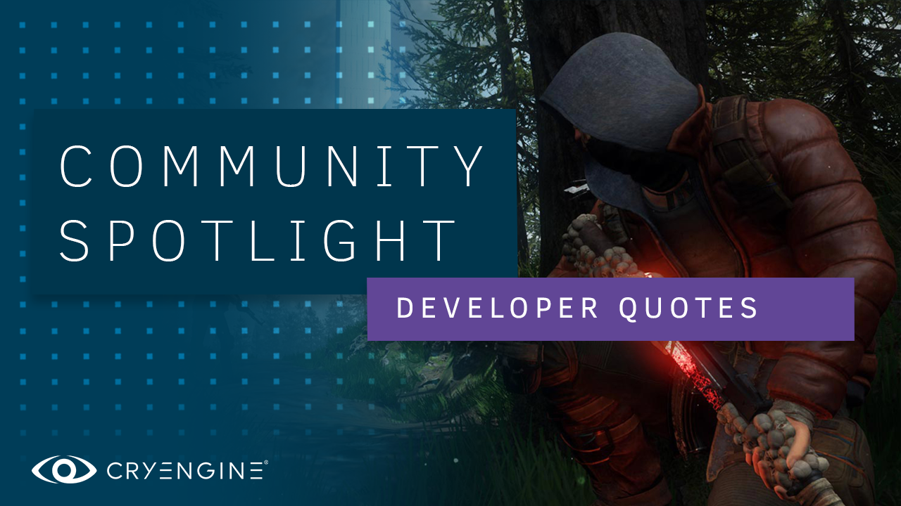 Why developers choose CRYENGINE