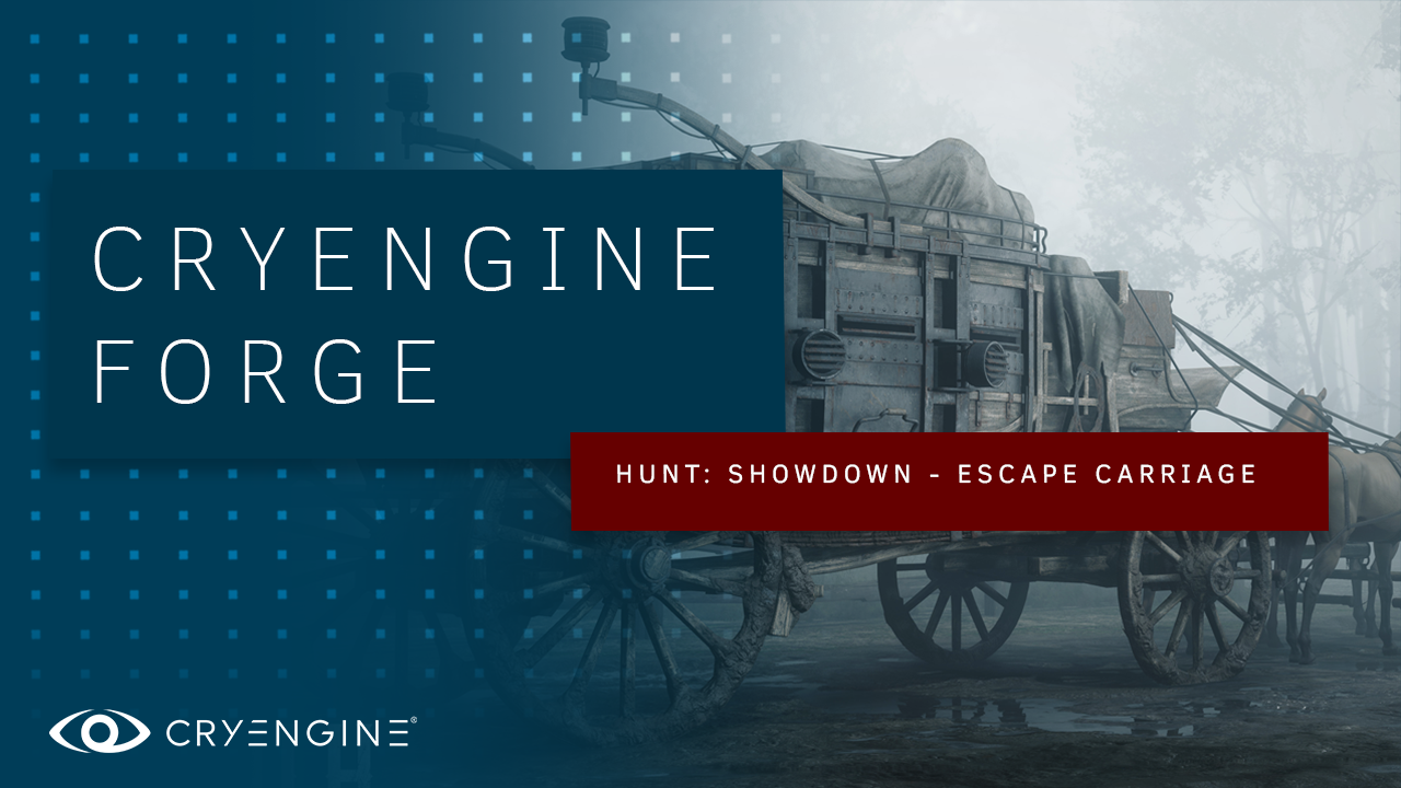 Check out how we use Substance with CRYENGINE to create an iconic asset for Hunt: Showdown