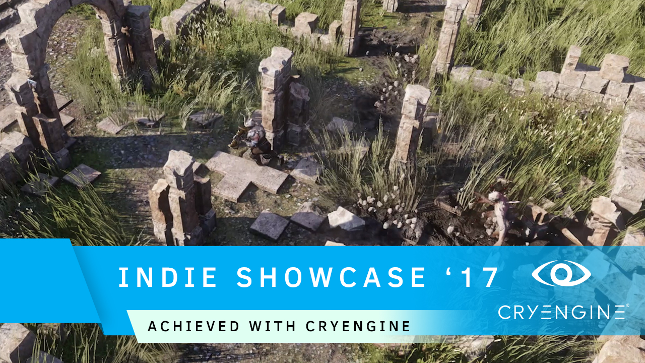 CRYENGINE Indie Showcase launches as we head to Quo Vadis '17