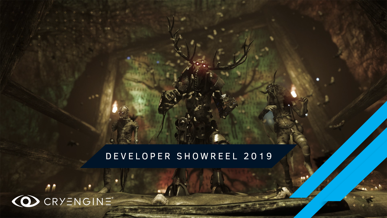 Check out the CRYENGINE Developer Showreel 2019