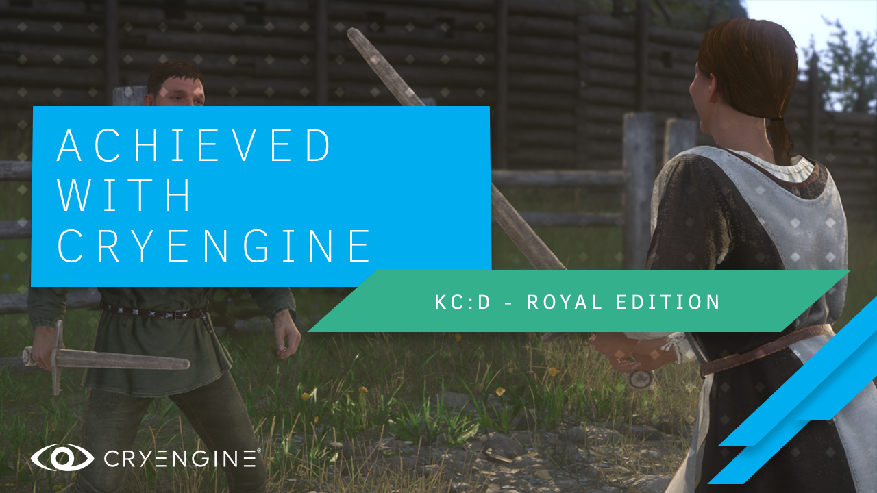 CRYENGINE Games at E3 - Kingdom Come: Deliverance Royal Edition & A Woman's Lot released