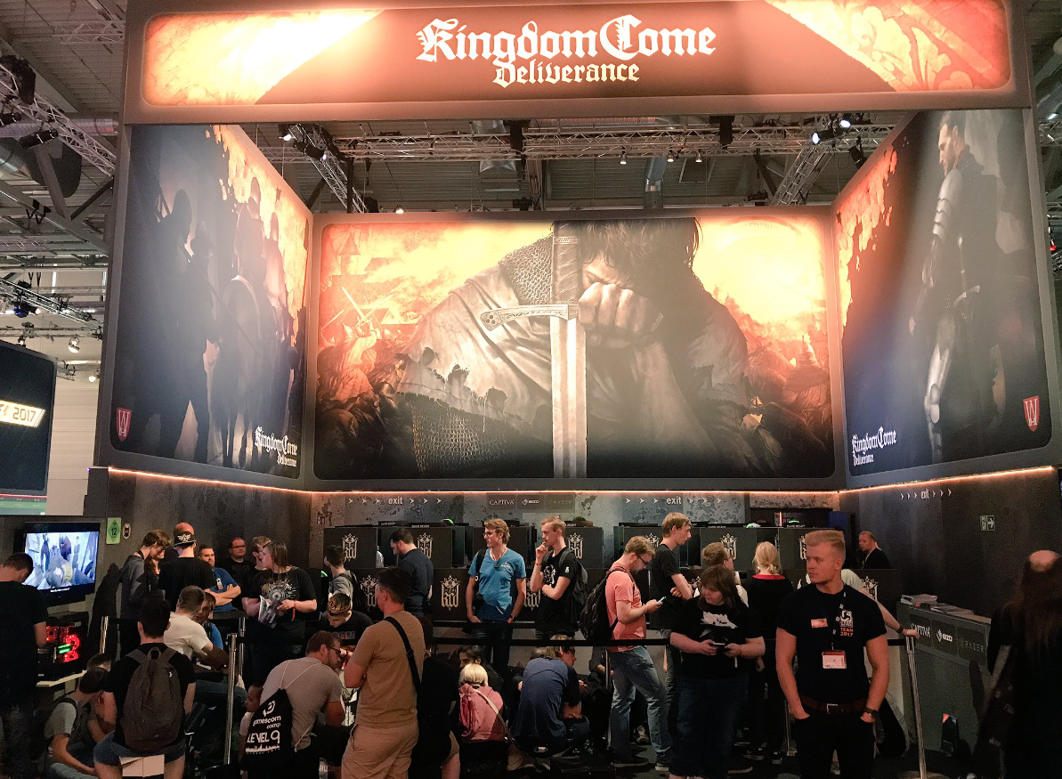 CRYENGINE-powered Kingdom Come: Deliverance Named Best PC Game at Gamescom
