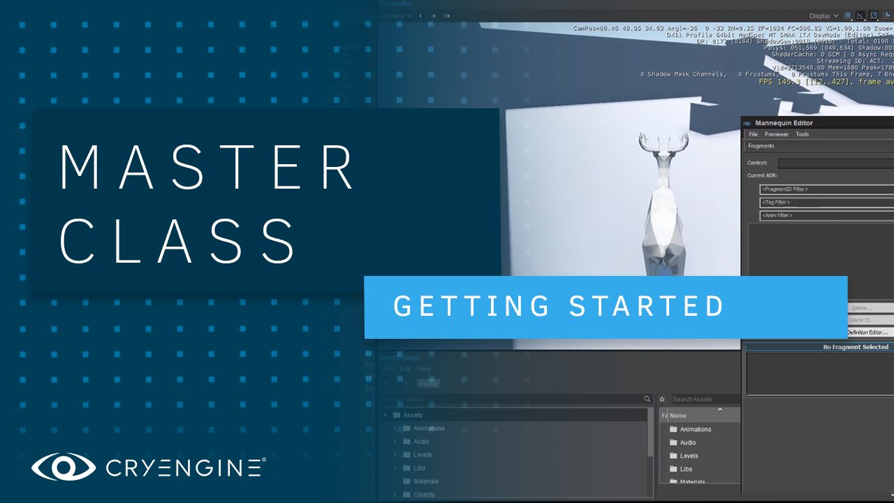 Getting started with CRYENGINE