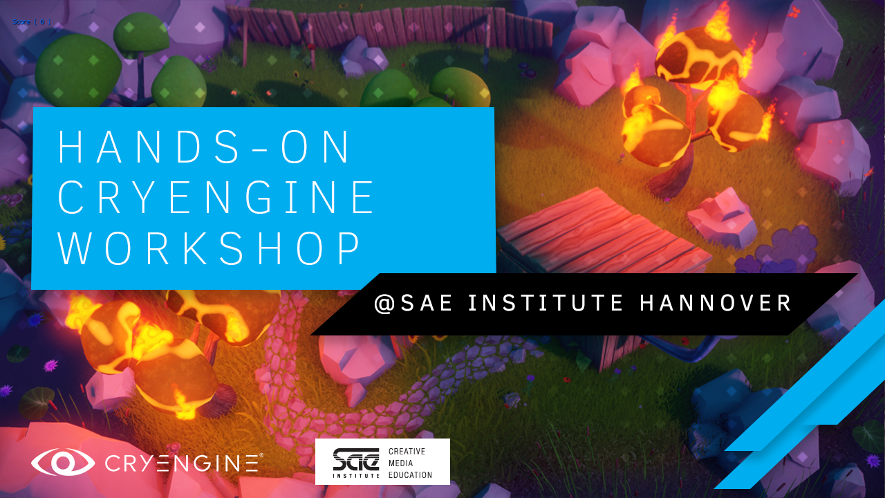 SAE Institute Workshops: Students trying CRYENGINE hands-on