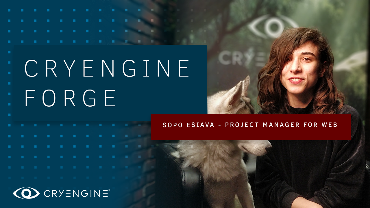 Meet the Team: Sopo Esiava, Project Manager for CRYENGINE Operations