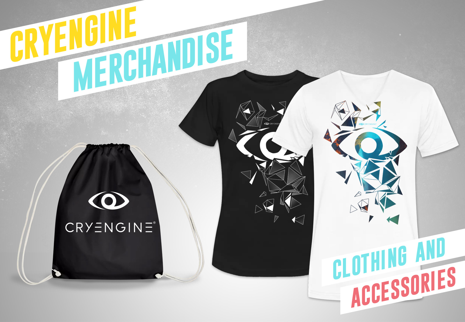 Announcing CRYENGINE merch!