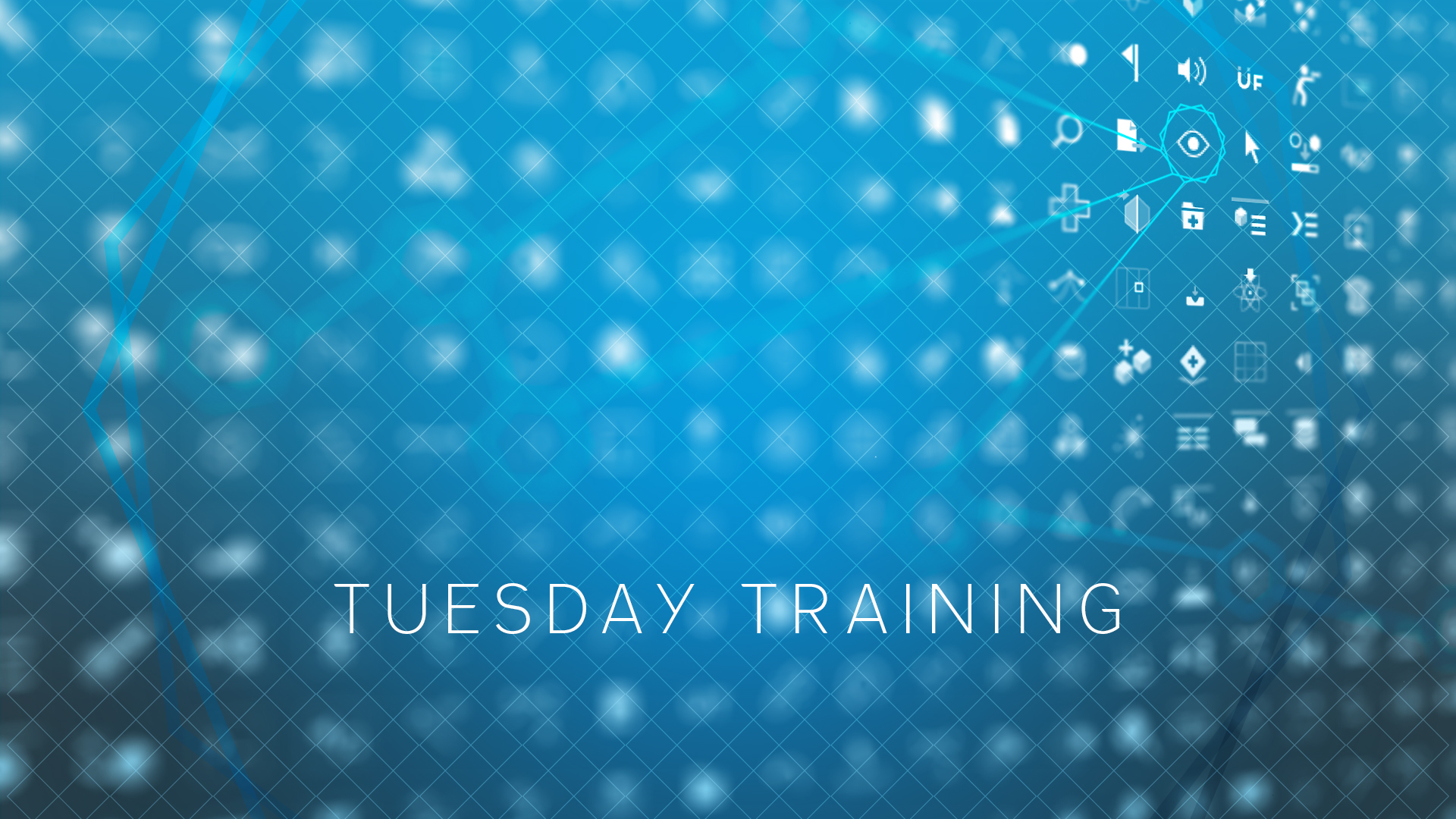 Tuesday Training: May 3rd