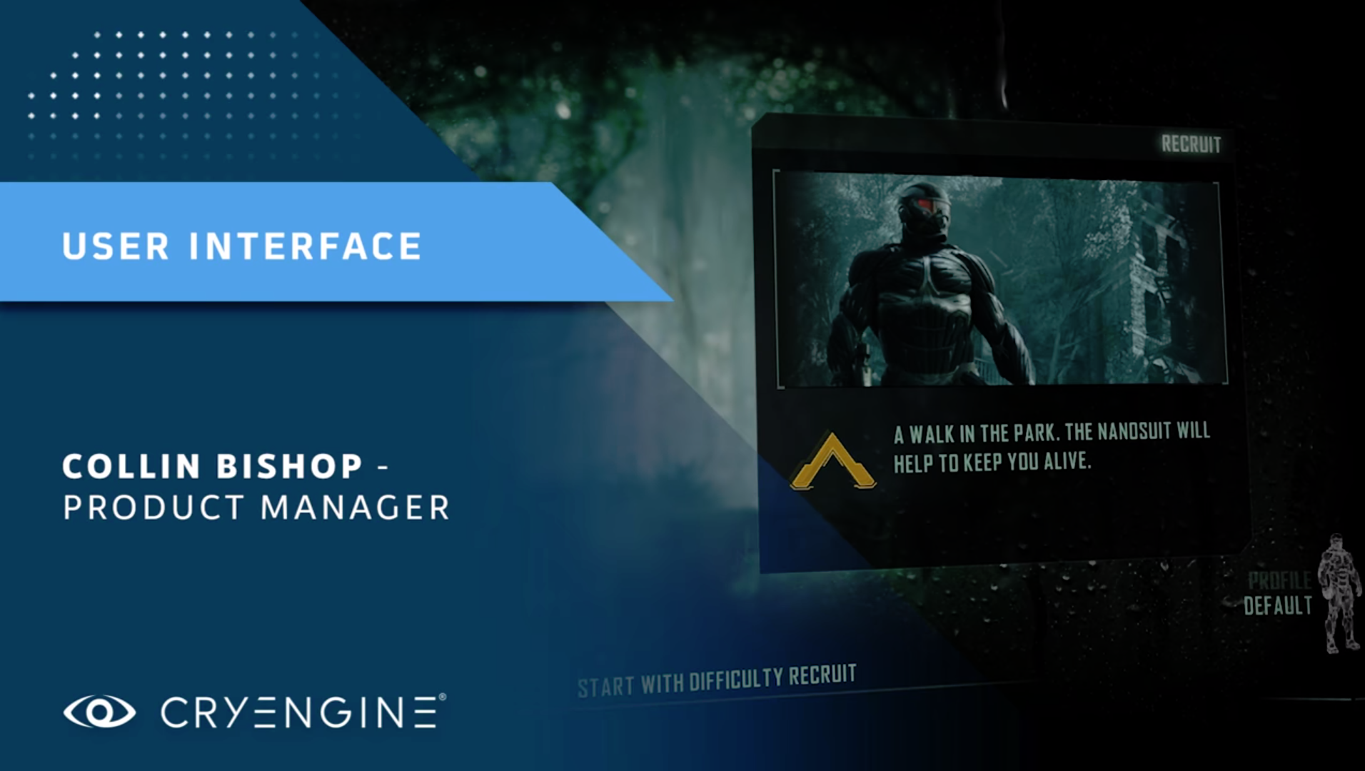 CRYENGINE Master Class: Building UI Using Scaleform
