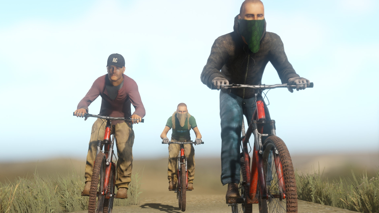 Miscreated Patch #33 Brings Bicycles!