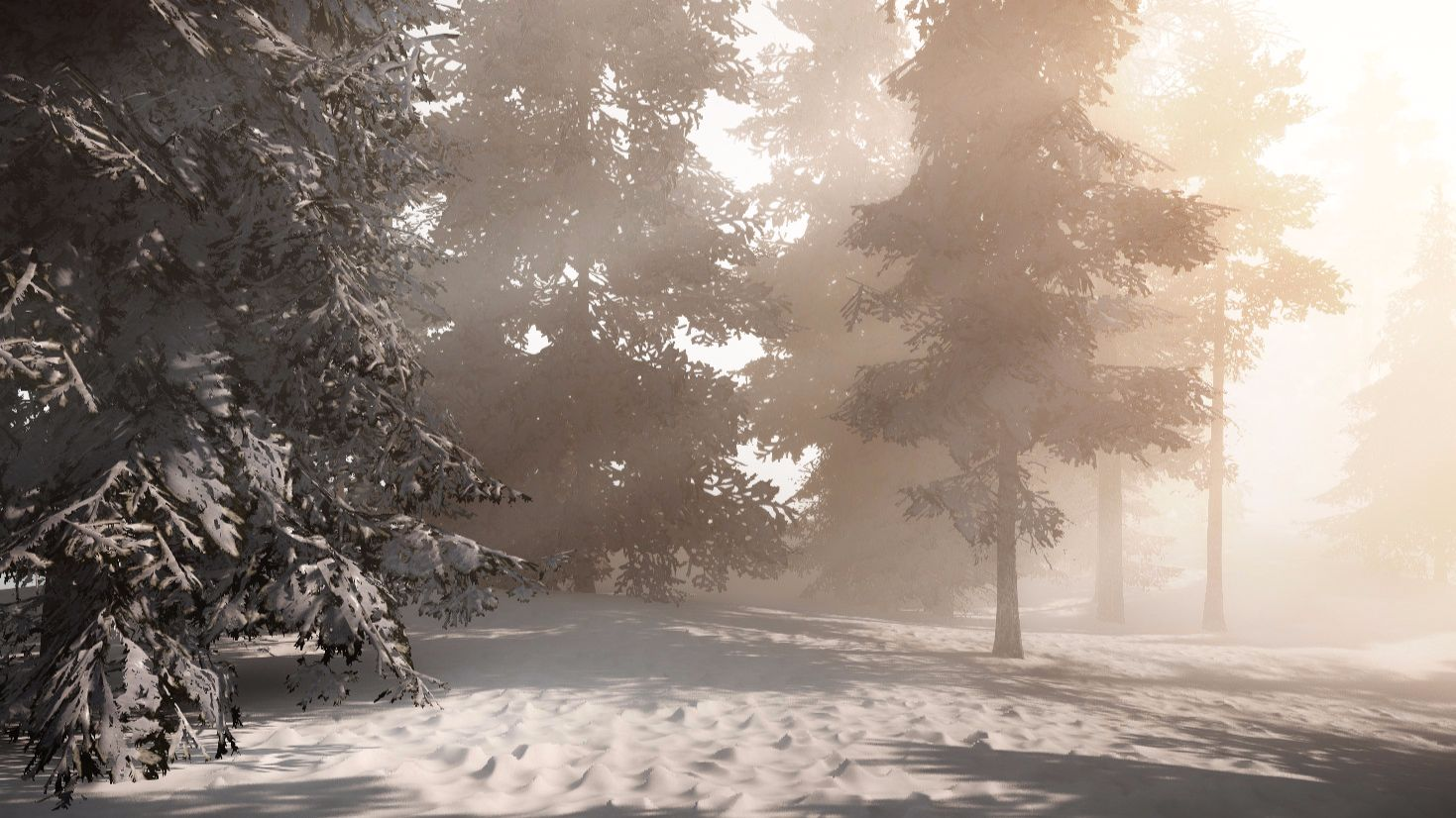 Winter Wonderlands in CRYENGINE